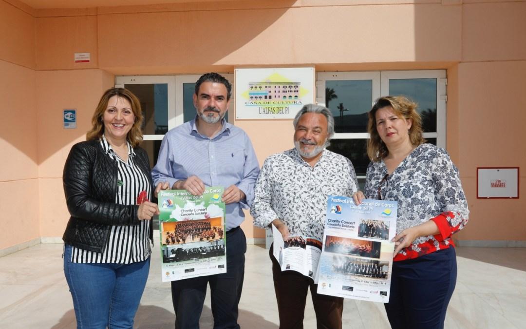 El Festival Internacional de Coros de l'Alfàs rinde homenaje al cine
