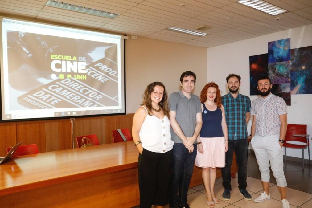 La UMH presentó en l'Alfàs su Escuela de Cine