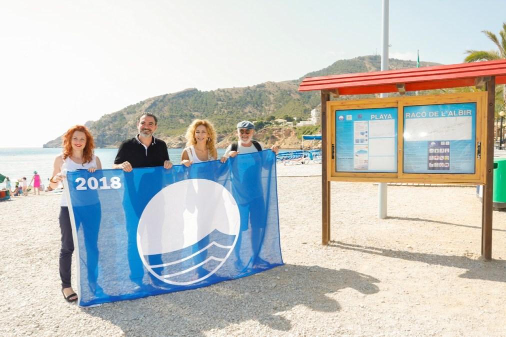 El Racó de l'Albir, una playa de cine
