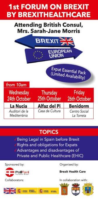 La Casa de Cultura acogerá el jueves 25 una charla sobre el los efectos del Brexit en materia sanitaria