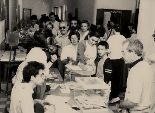 Mañana se inaugura en les Escoles Velles la exposición '40 anys de les primeres elecciones democràtiques'