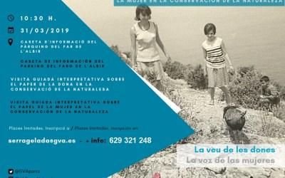 La Serra Gelada acoge una visita interpretativa sobre el papel de las mujeres en la conservación de la naturaleza