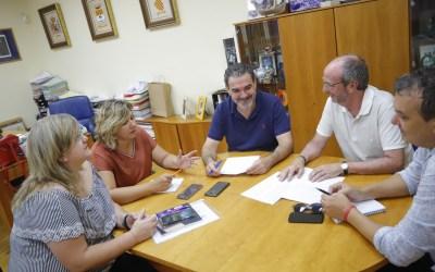 APSA y el Ayuntamiento de l'Alfás del Pi continuarán colaborando en 2020 como se ha puesto de manifiesto en la reunión de trabajo celebrada hoy