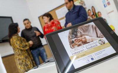 El CFO de l'Alfàs acoge un curso de publicidad en Instagram y Facebook organizado por MEMBA