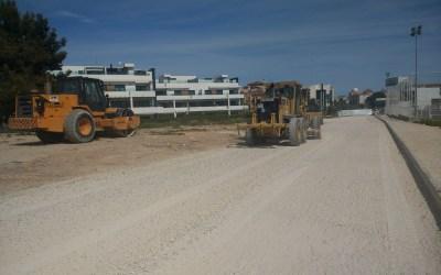 En marcha las obras del nuevo vial que conectará la calle San Miguel y la avenida Sant Pere