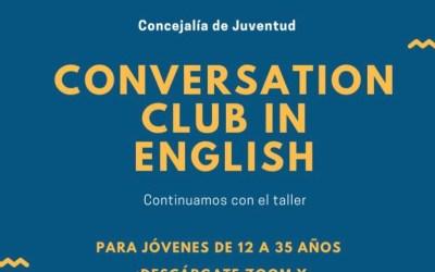 Juventud retoma la actividad 'Conversation Club in English' a través de un servicio de videoconferencia