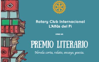 El Rotary Club Internacional L'Alfàs del Pi crea un Premio Literario