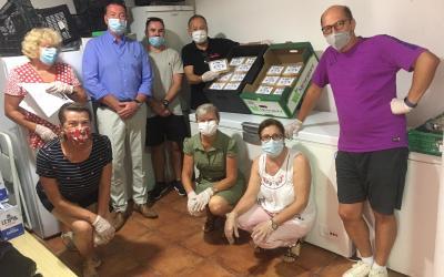 Los Masones y el restaurante indio Sarita colaboran con el Banco de Alimentos de l'Alfàs del Pi