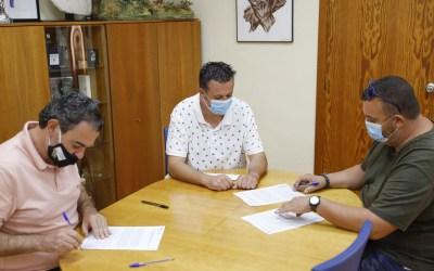 Deportes colabora con el Club de Tiro al Plato de l'Alfàs en la promoción de esta disciplina olímpica