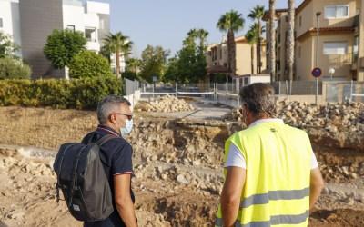El Ayuntamiento de l'Alfàs reanuda las obras de prolongación de la calle San Miguel