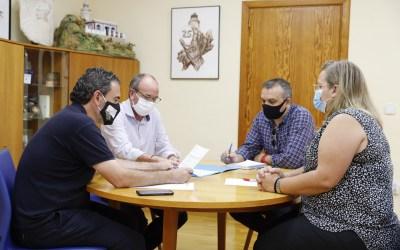 L'Alfàs prepara con APSA un programa de formación e inserción laboral anticovid