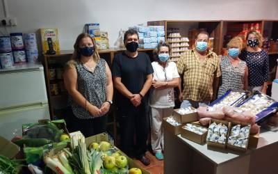 El Restaurante de l'Albir Noa Lounge dona productos básicos al Voluntariado Social