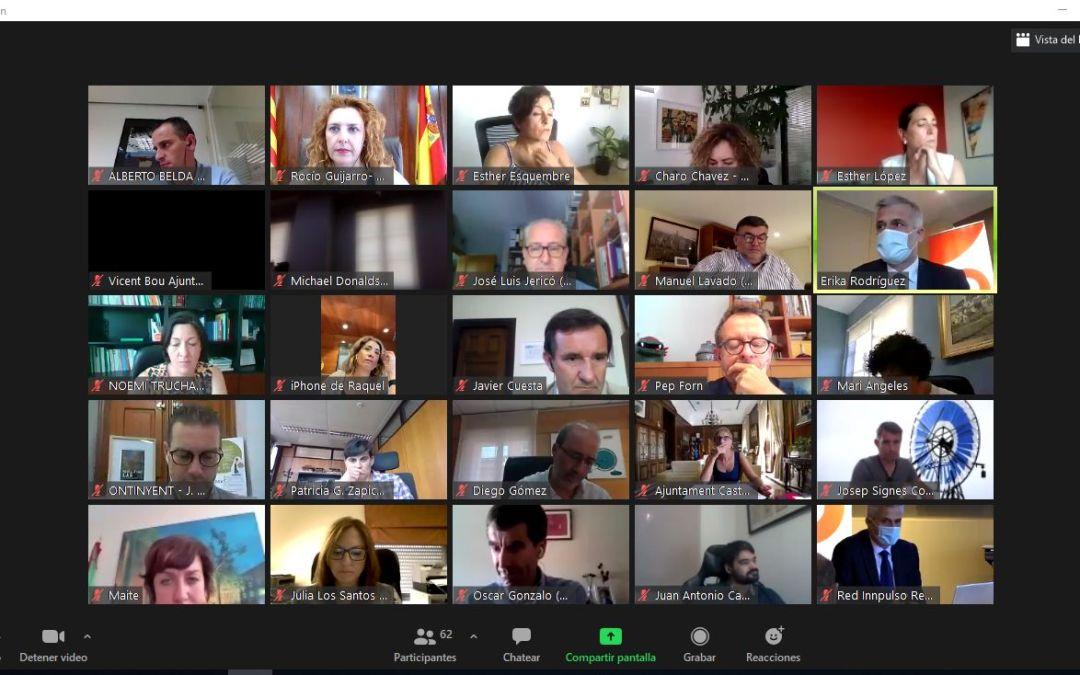 L'Alfàs participa en el pleno anual de la Red Innpulso por la innovación