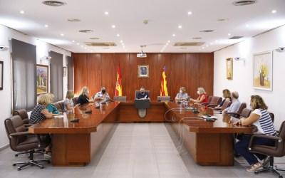 Presentación nueva junta directiva del Voluntariado Social de l'Alfàs