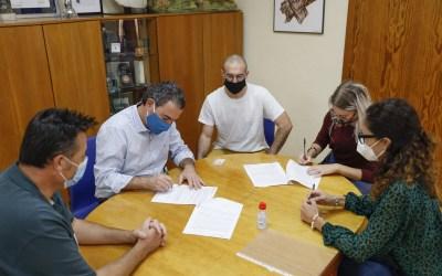 Continúa la renovación de convenios deportivos en el Ayuntamiento de l'Alfàs