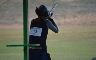 La tiradora alfasina Paula Morcillo participa en el Campeonato de España Absoluto de Foso Olímpico
