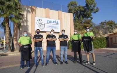 El Club de Nordic Walkers de l'Alfàs celebra su 15 aniversario