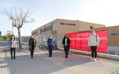 Los Centros Educativos de l'Alfàs conmemoran el Día de la eliminación de la violencia contra la mujer