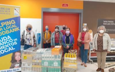 El Club de Leones de l'Alfàs comienza el año con una nueva donación al Voluntariado Social