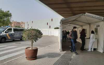 Comienza la vacunación de la plantilla de la Policía Local de l'Alfàs