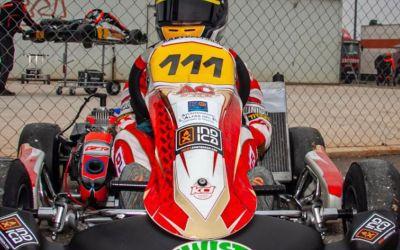 El joven piloto alfasino de Karts, Oliver Claeys, entre los 10 mejores corredores en la Copa Hivern 2021