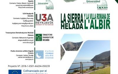 """La Universidad Permante de Alicante y el Patronato Provincial de Turismo presentarán la guía metodológica de la ruta """"La Sierra Helada y la Villa Romana de l' Albir"""""""