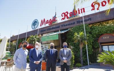 El complejo Magic Robin Hood de l'Alfàs acogerá este verano el Campus Experience Fundación Real Madrid