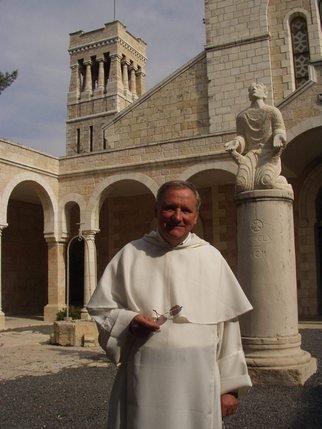 Le dominicain fribourgeois Jean-Michel Poffet (ici en novembre 2005) a vécu en Israël de 1999 à 2008.  © Pascal Fleury