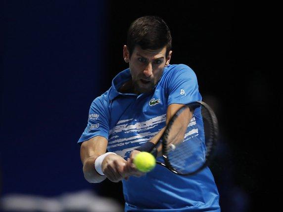 Djokovic lost only 3 games on Sunday against Berrettini © KEYSTONE / AP / ALASTAIR GRANT