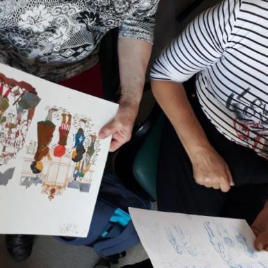 Formation des bénévoles : Rencontre avec une autrice/illustratrice : Sandrine Bonini