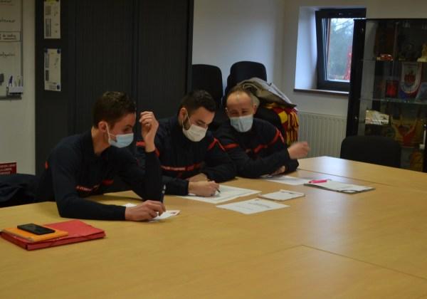 Formation des Formateurs des Jeunes Sapeurs-Pompiers