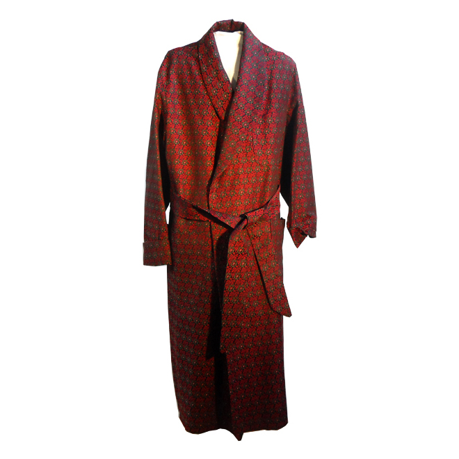 Harrods Vintage Silk Brocade Dressing Gown – Lalita