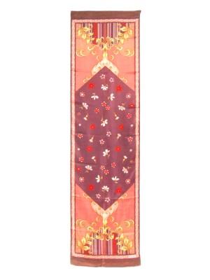 Vakko long silk scarf