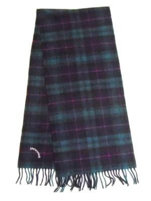 Lochinvar pure wool tartan scarf