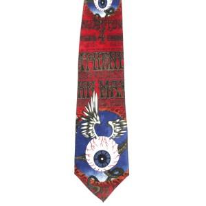 Hendrix - Flying Eyeball Silk tie