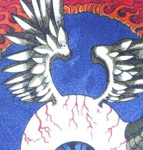 Hendrix Flying Eyeball Silk Tie
