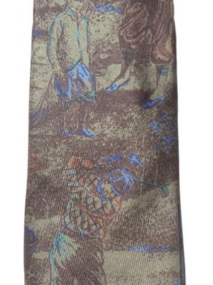 Vintage Pierre Balmain Silk Tie