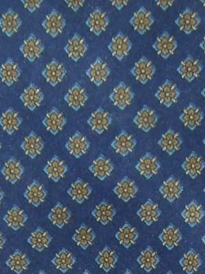 Blue background silk Kurt Geiger tie