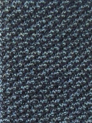 Vintage N Peal alpaca wool blue knit tie