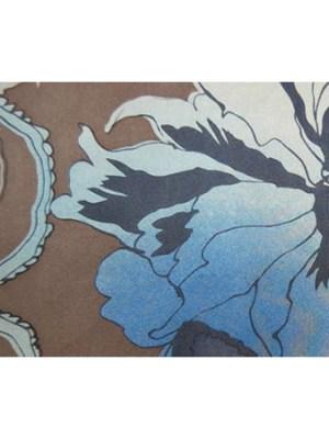 Fenn Wright and Manson floral design long scarf