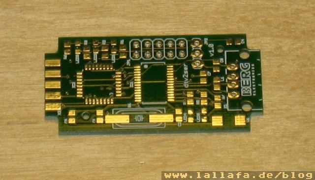 First dtv2ser+usb PCB « Lallafa's Blog