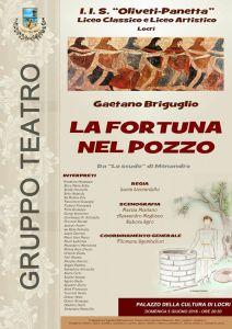 LA FORTUNA NEL POZZO @ Palazzo della Cultura di Locri | Locri | Calabria | Italia