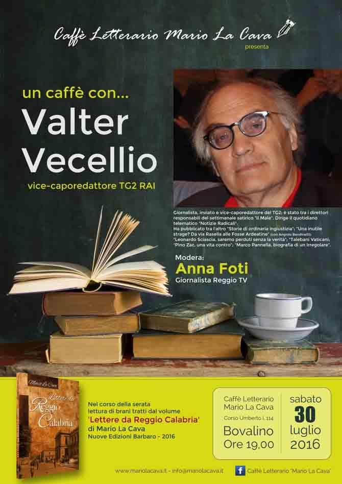 Un caffè con Valter Vecellio lalocride locride