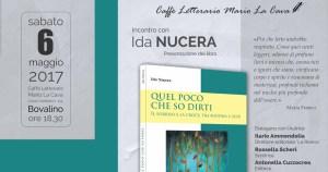 Quel poco che so dirti. Incontro con Ida Nucera @ Caffe letterario Mario la Cava | Bovalino | Calabria | Italia