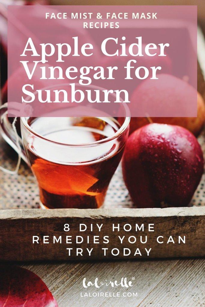 Apple Cider Vinegar for Sunburn - Home Remedies