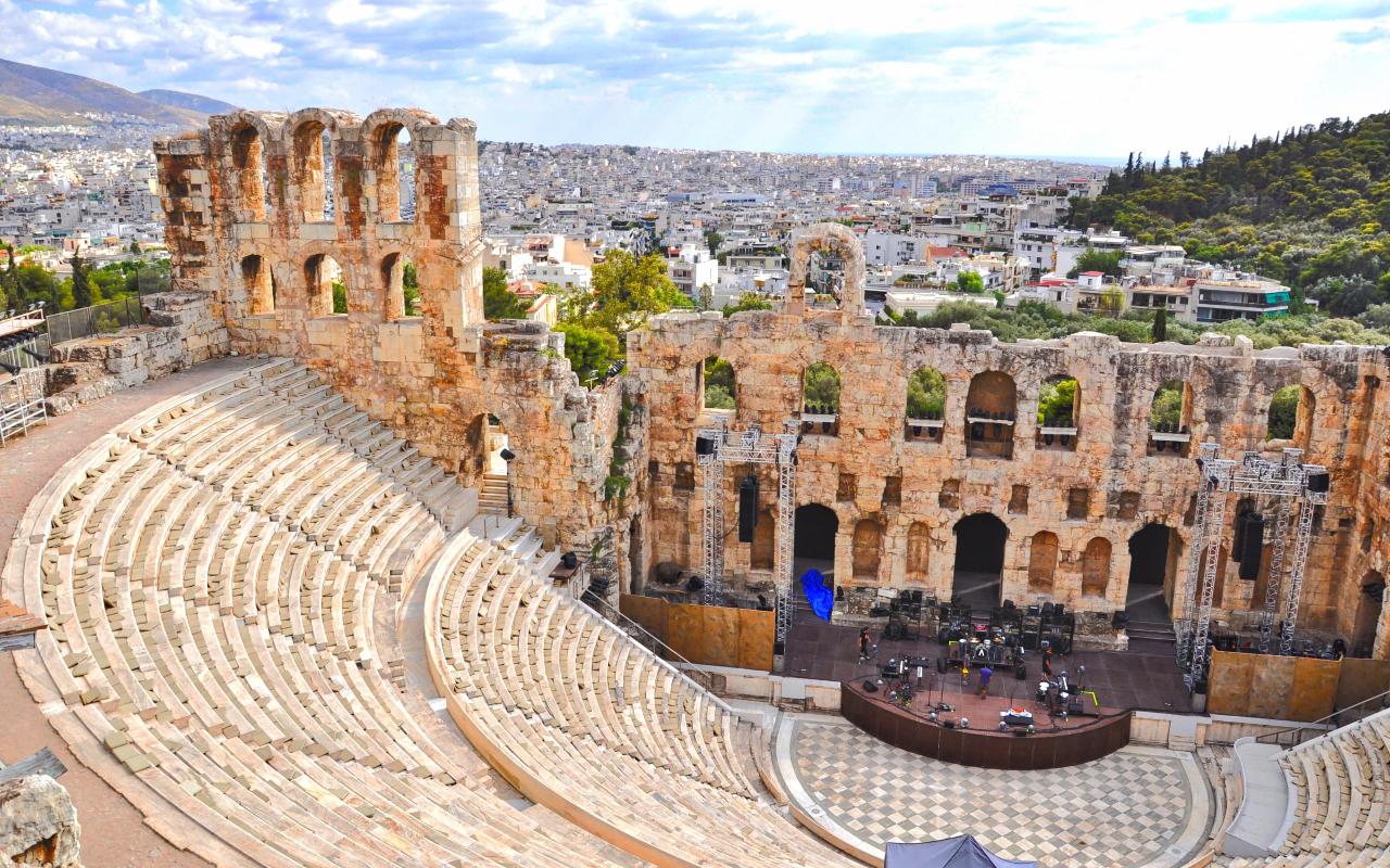 Como Era El Partenon De Atenas La Loteria Nvidad