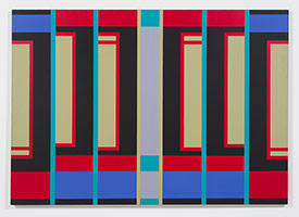 Fanny Sanín<BR> Acrylic No. 2, 1974<BR> acrylic on canvas<BR> 65 x 92 in. (165.1 x 233.7 cm)
