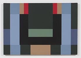 Fanny Sanín<br> Acrylic No, 2, 1981<br> Acrylic on canvas<br> 28 x 40 in. (71.1 x 101.6 cm)