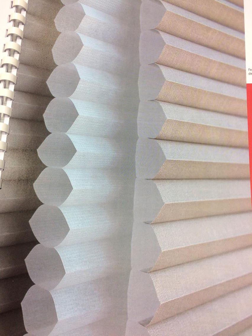 store plisse nid d abeilles air couleur blanc 6110 blanc
