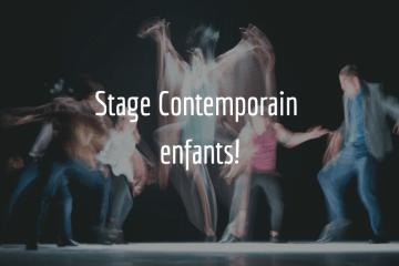 photo stage de danse contemporaine enfants école de danse l'alternative
